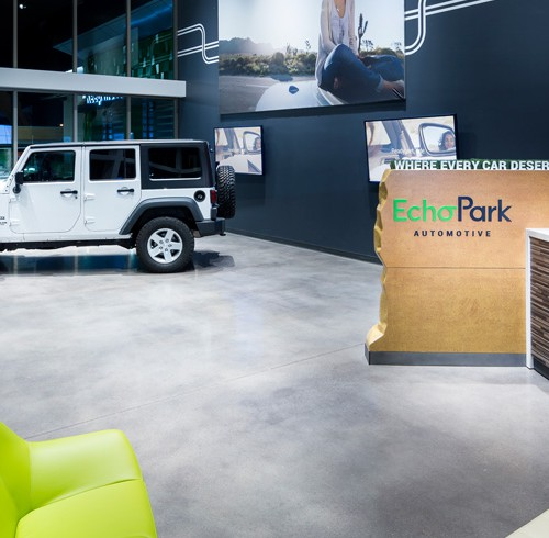 An Inside Look At Sonic Automotive's First Strictly Pre-Owned Dealership, EchoPark